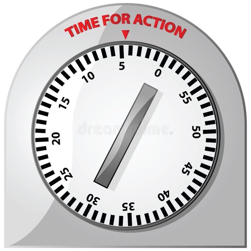 Zeit für Tätigkeit vektor abbildung