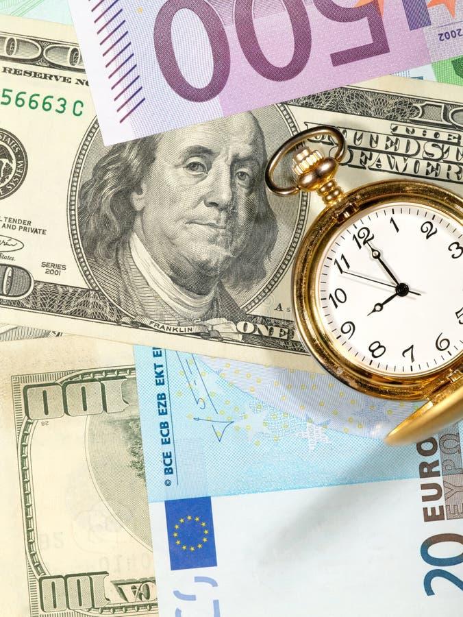 Zeit, Geld zu verdienen. lizenzfreie stockfotos