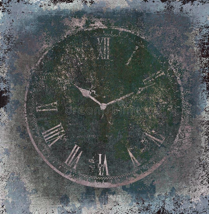 Zeit grunge vektor abbildung