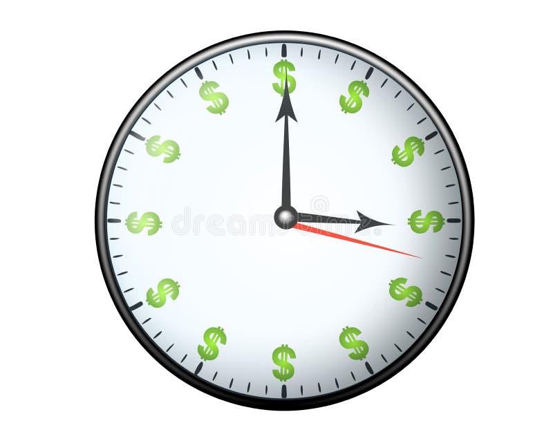 zeit ist geld stock abbildung bild von idiome bargeld 4542423. Black Bedroom Furniture Sets. Home Design Ideas