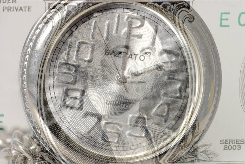 Zeit ist Geld 7445 lizenzfreie stockfotografie