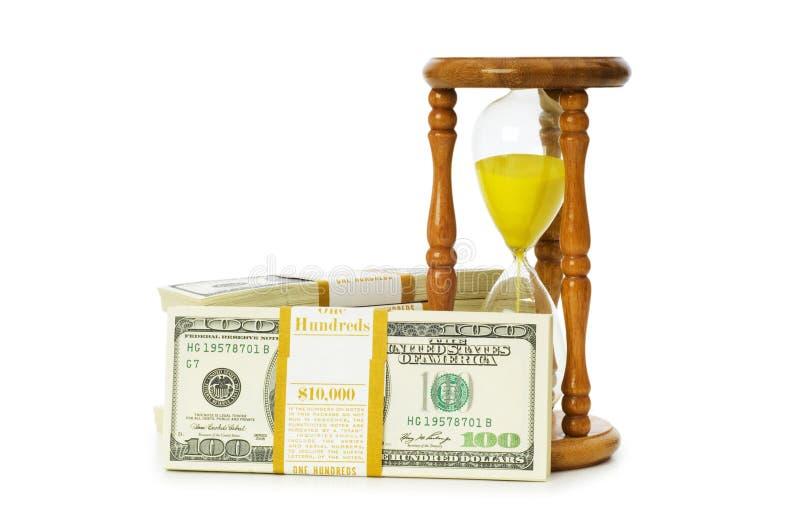 Zeit ist Geld Konzept stockbilder