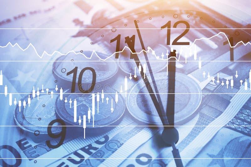 Zeit ist Geld Konzept lizenzfreies stockfoto