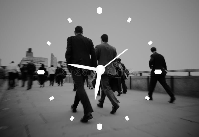 Zeit-Management-Uhr-Warnungs-Maß-Konzept lizenzfreie stockfotografie