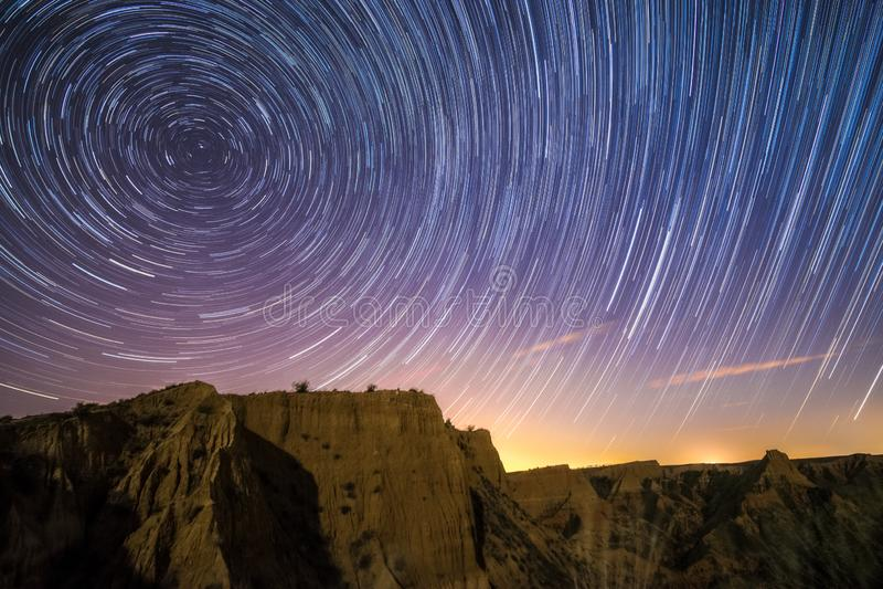 Zeit-Nacht stockbilder