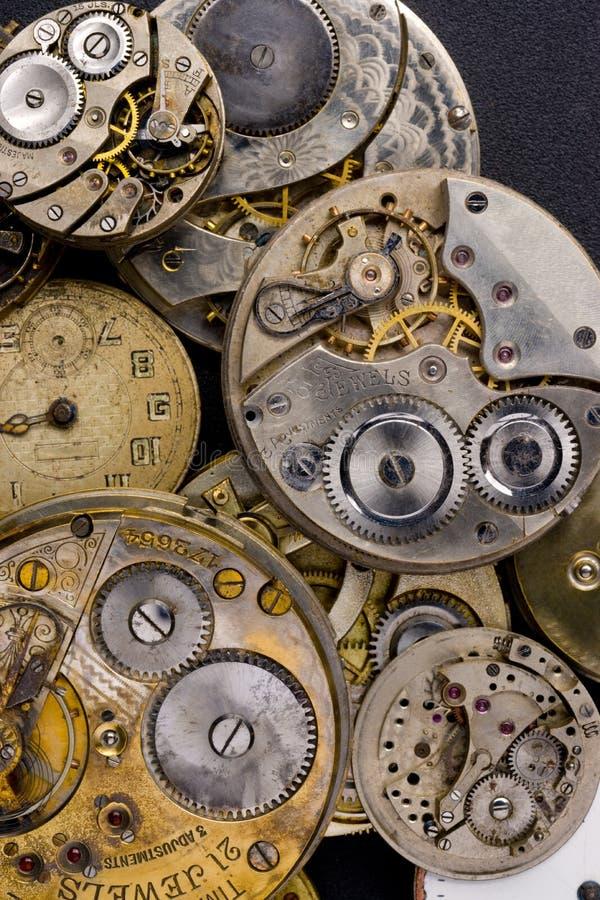 Zeit-Stücke stockbild