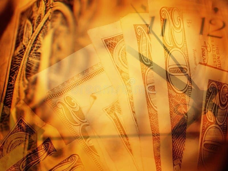 Zeit und Geld stockbilder