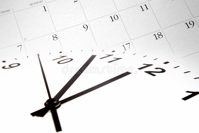 Zeit und Kalender lizenzfreie stockbilder