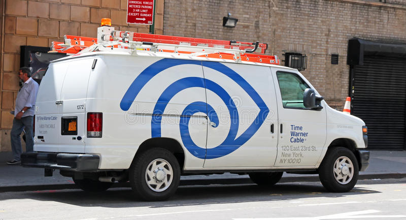 Zeit Warner Cable stockfotos