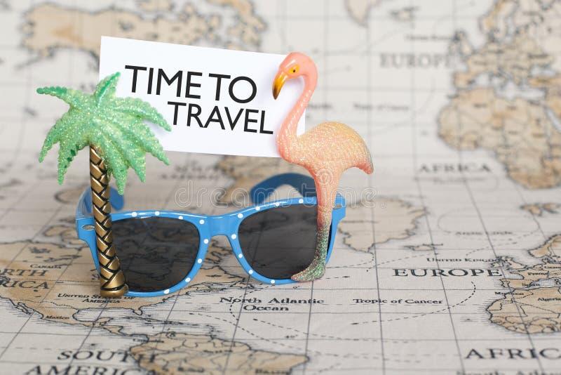 Zeit zu reisen lizenzfreies stockbild