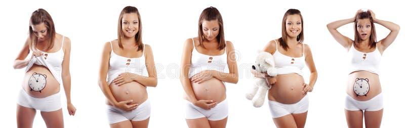 Zeit zur Geburt lizenzfreie stockfotos