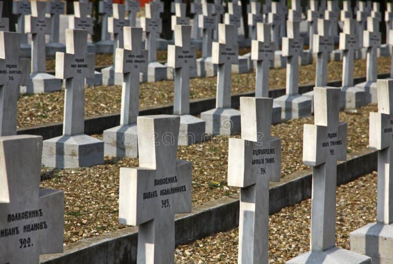 Zeitenlik, объединенное воинское кладбище и парк WWI мемориальный внутри стоковые фотографии rf