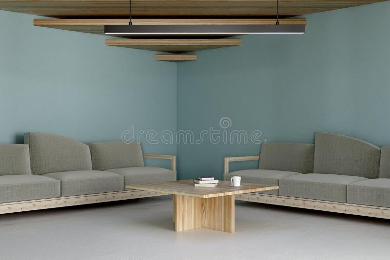 Zeitgenössische Büro-Vorhalle vektor abbildung