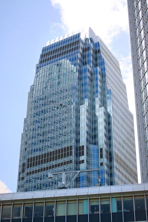 Zeitgenössische Handelsgebäude in Hong Kong stockbilder