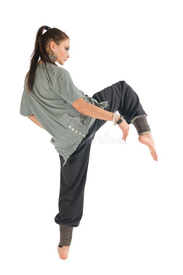 Zeitgenössischer Tänzer lizenzfreie stockfotos