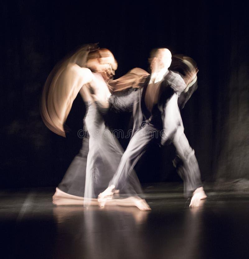 Zeitgenössischer Tanz stockfotos