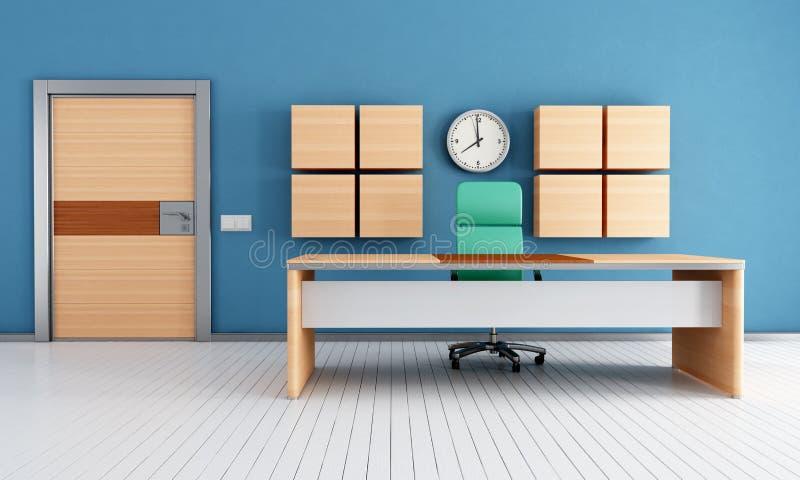 Zeitgenössisches modernes Büro vektor abbildung