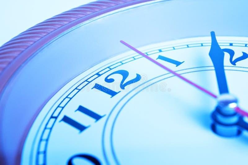 Zeitkonzeptborduhr lizenzfreie stockfotografie