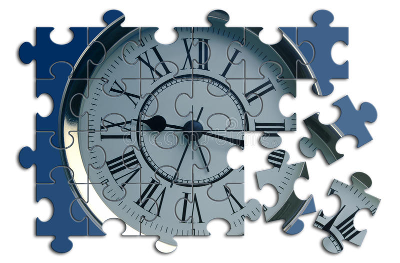 Zeitlösung vektor abbildung