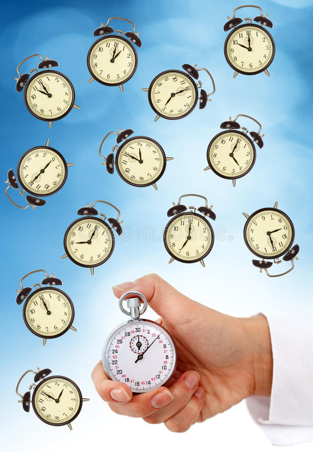 Zeitmanagement lizenzfreie stockfotos