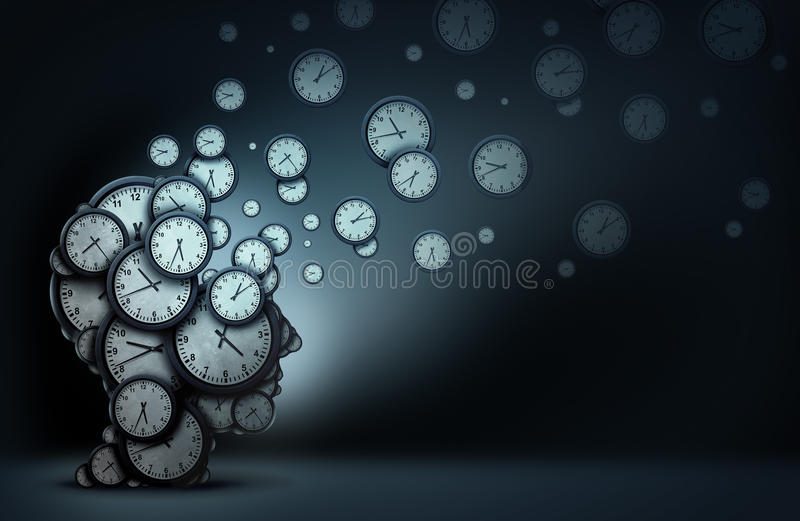 Zeitplanung Konzept stock abbildung