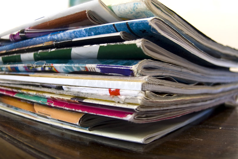 Download Zeitschriften stockfoto. Bild von haus, artikel, druck - 1363476