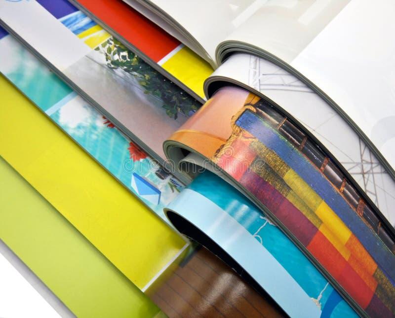 Download Zeitschriften stockbild. Bild von hintergrund, getrennt - 8108321