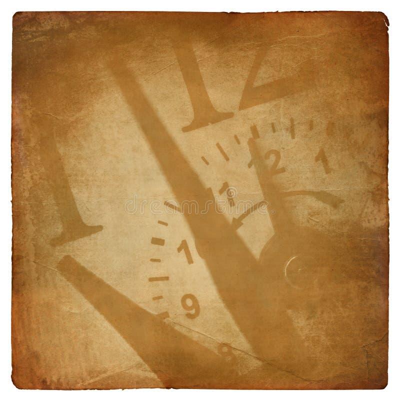 Zeitthema-Auszugshintergrund stock abbildung