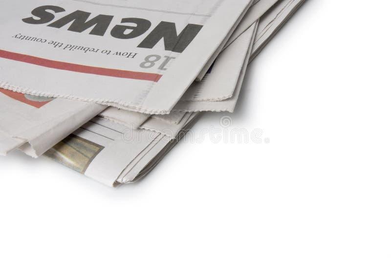 Zeitung - die Nachrichten lizenzfreie stockfotografie