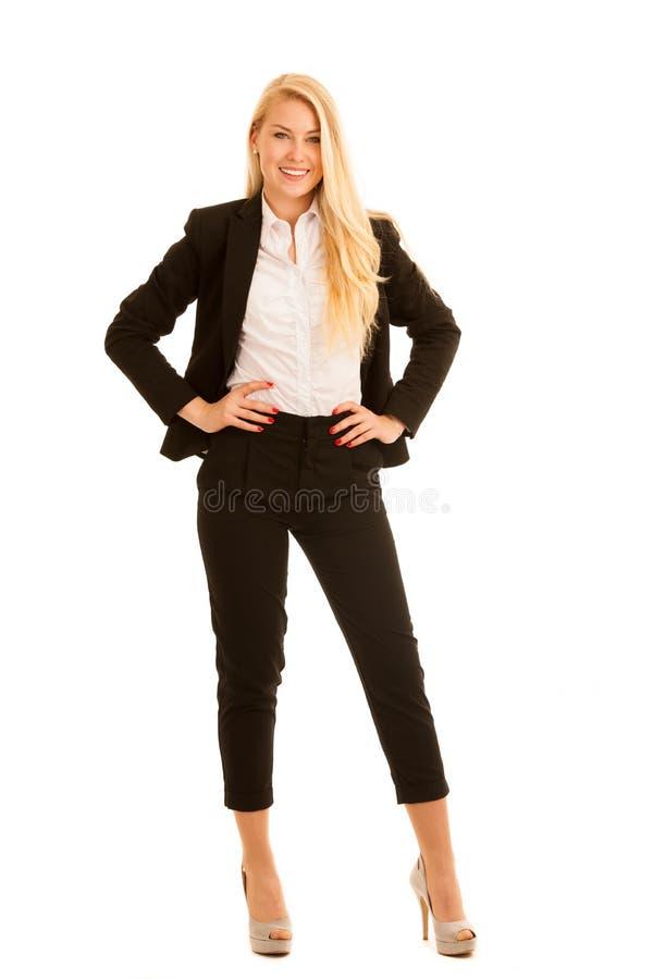 Download Zekere Bedrijfsvrouw Stantd In Het Bureau Stock Foto - Afbeelding bestaande uit aantrekkelijk, geluk: 107708774