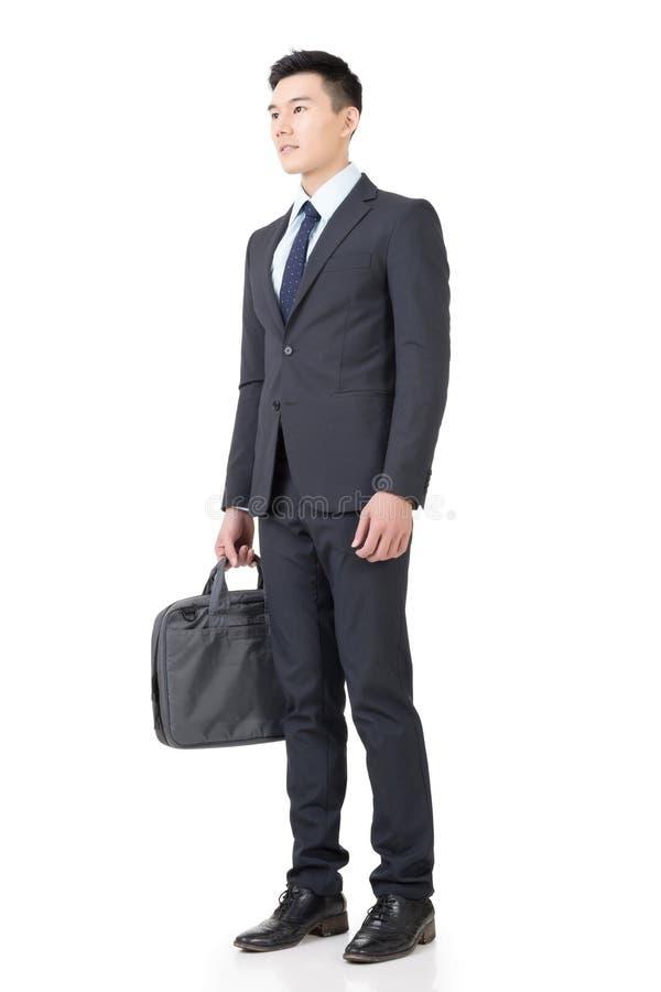 Zekere jonge bedrijfsmens stock foto
