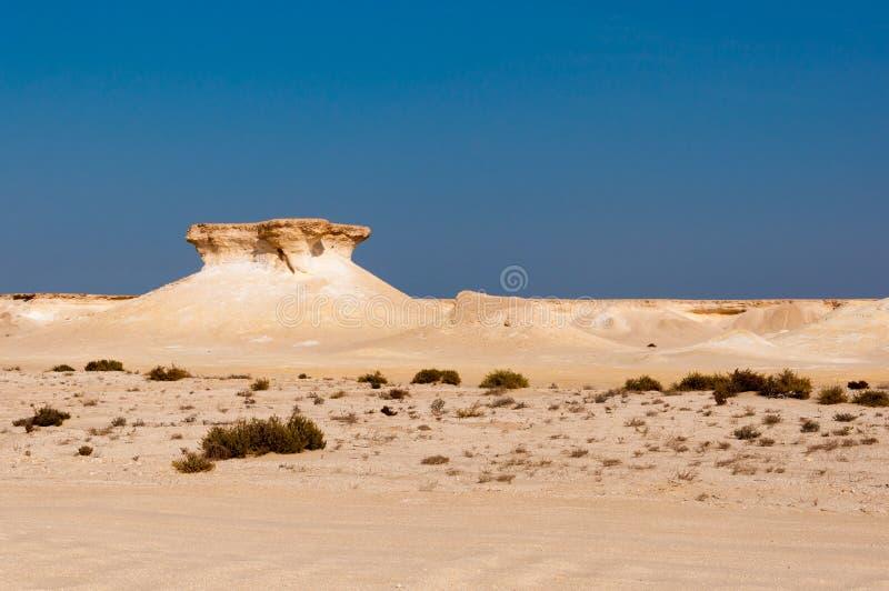 Zekreet desert, Doha, Qatar. Zekreet desert is a perfect place for thrill seekers and adventurers stock photography