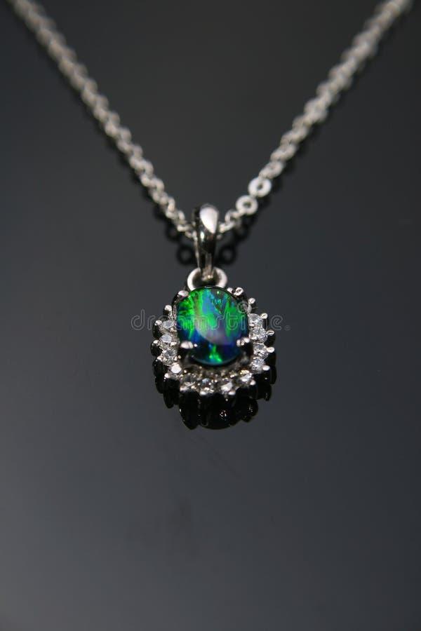 Zeldzaam opaal royalty-vrije stock afbeeldingen