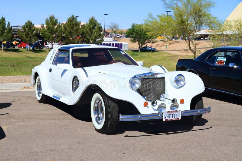 Zeldzame Auto: 1990 Spartaanse II royalty-vrije stock fotografie