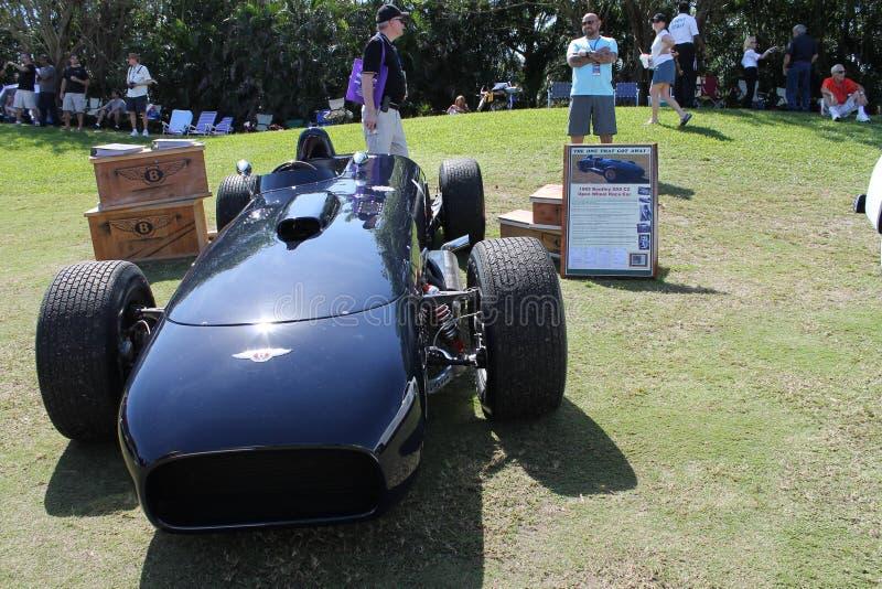 Zeldzame uitstekende Bentley-raceauto stock afbeeldingen