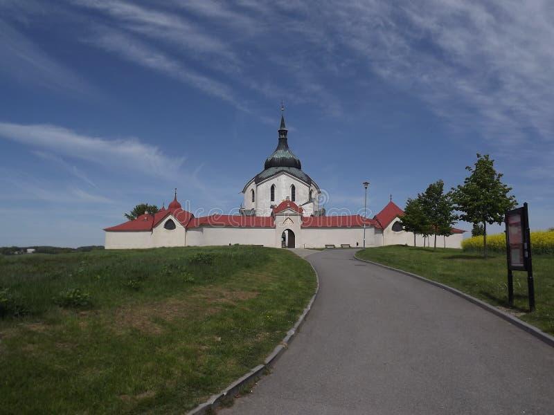 Zelena Hora u Zdaru nad Sazavou imagens de stock royalty free