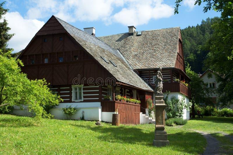 Zelezny Brod, Maloskalsko, Tsjechische republiek stock afbeelding