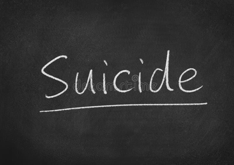 zelfmoord stock foto's
