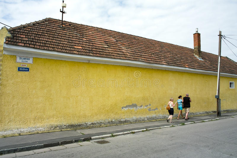 Zeliarska street royalty free stock image