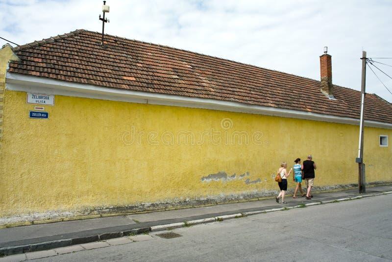 Zeliarska ulica obraz royalty free