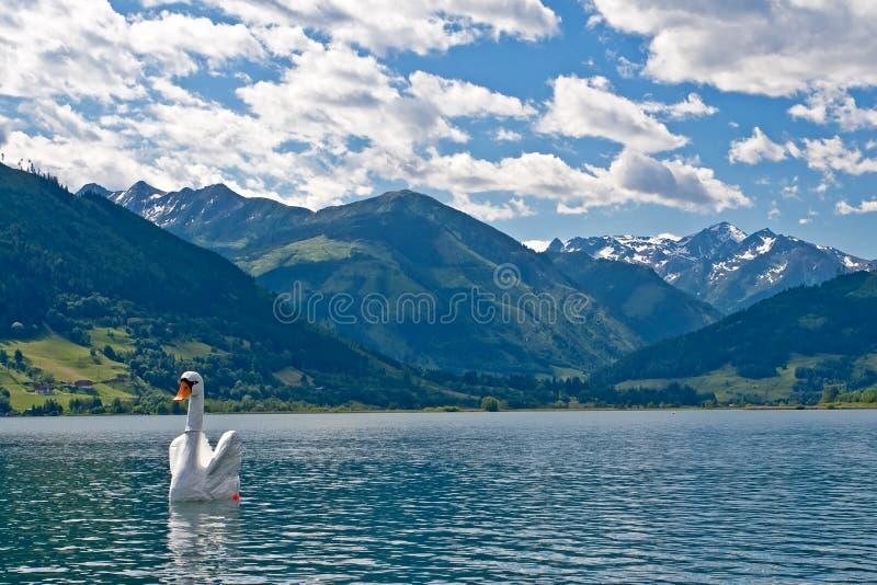 Zell am See lake Austria royalty free stock photos