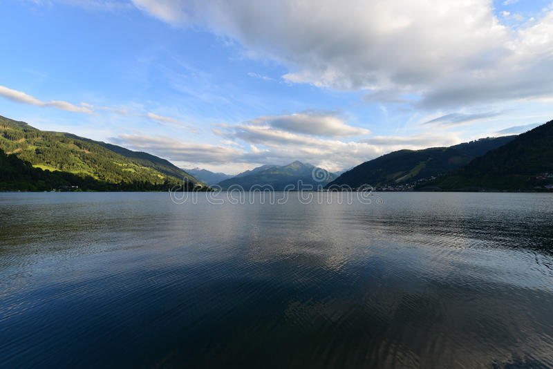 Zell am See Lakeview stock image