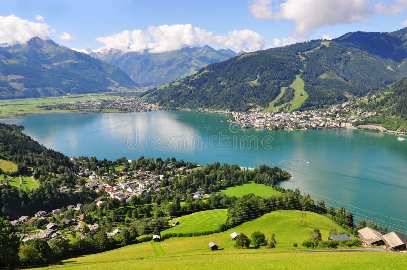 Zell am See, Salzburger Land, Salzburg, Austria royalty free stock images