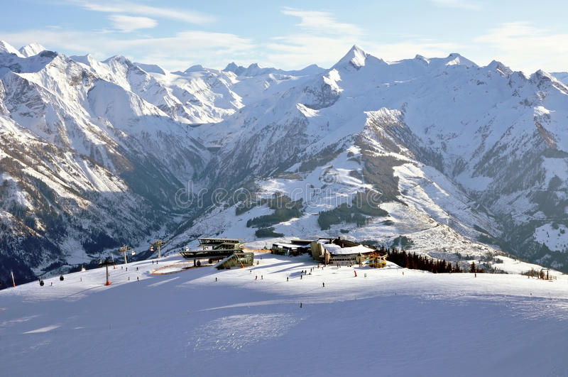 Download Zell Am See Ski Resort In The Austrian Alps Stock Photo - Image: 24020348
