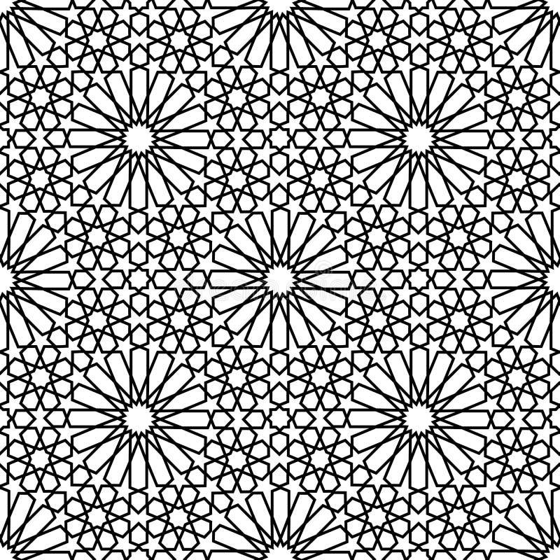 zellige marocain sans couture illustration de vecteur illustration du r p tition texture. Black Bedroom Furniture Sets. Home Design Ideas