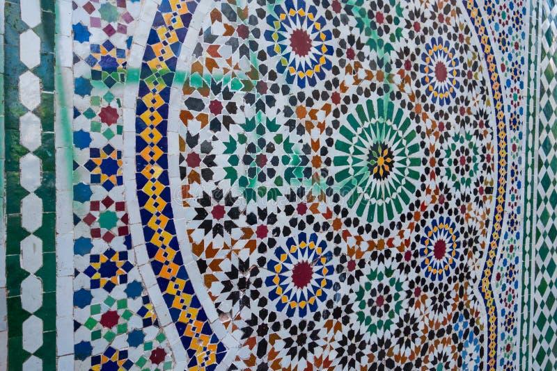 zellige traditionnel marocain photos stock