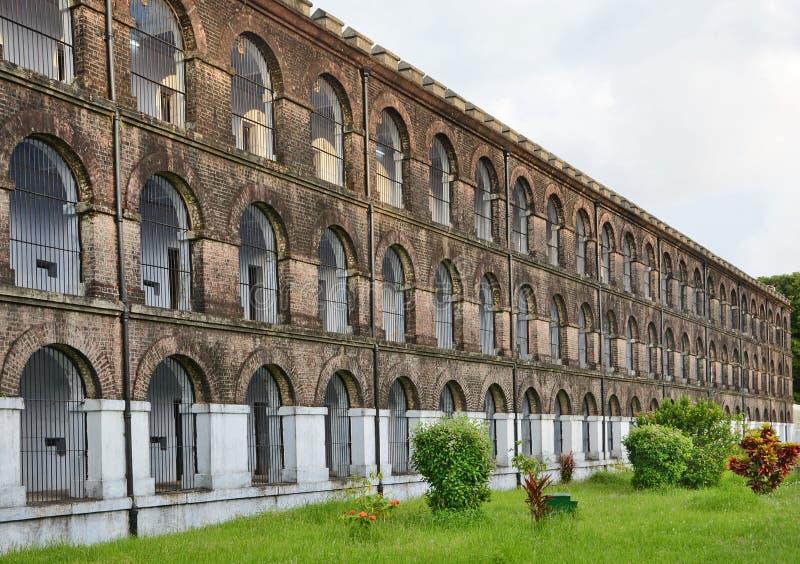 Zelluläres Gefängnis lizenzfreies stockbild