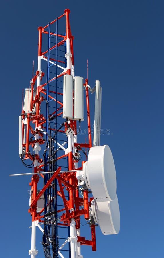 Zellularer Radiokontrollturm lizenzfreies stockbild