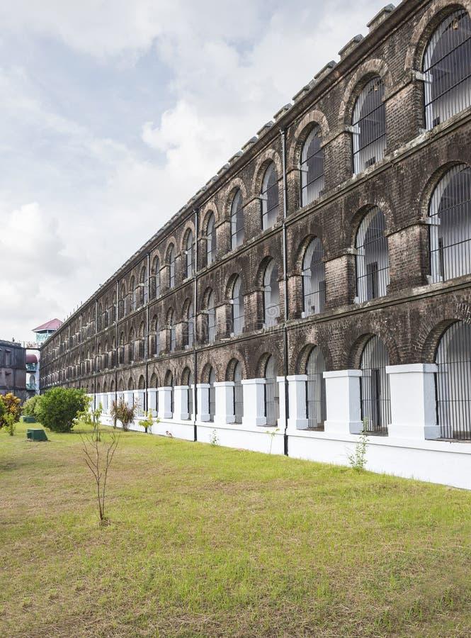 Zellulares Gefängnis stockbild