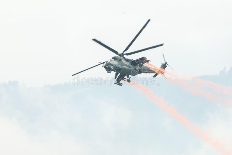 Zeltweg, Austria / Austria- SEPTEMBER 06 2019: Airpower 2019, air show stock images